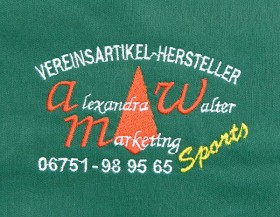 Firmenlogo Alexandra Walter Marketing (Herzseitig)
